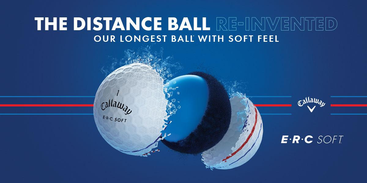 Callaway ERC Soft Golf Balls banner image