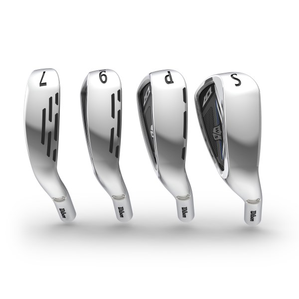 Wilson Staff D7 Irons product tech image for feature section 2019