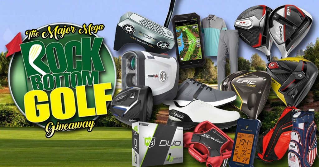 Rock Bottom Golf's Major MEGA Giveaway