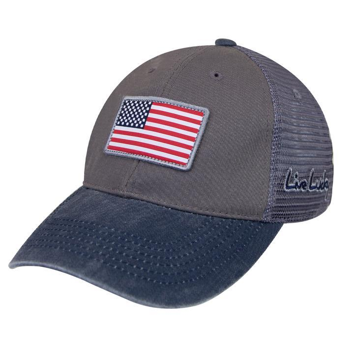 Black Clover Golf- USA Flag Patch Cap