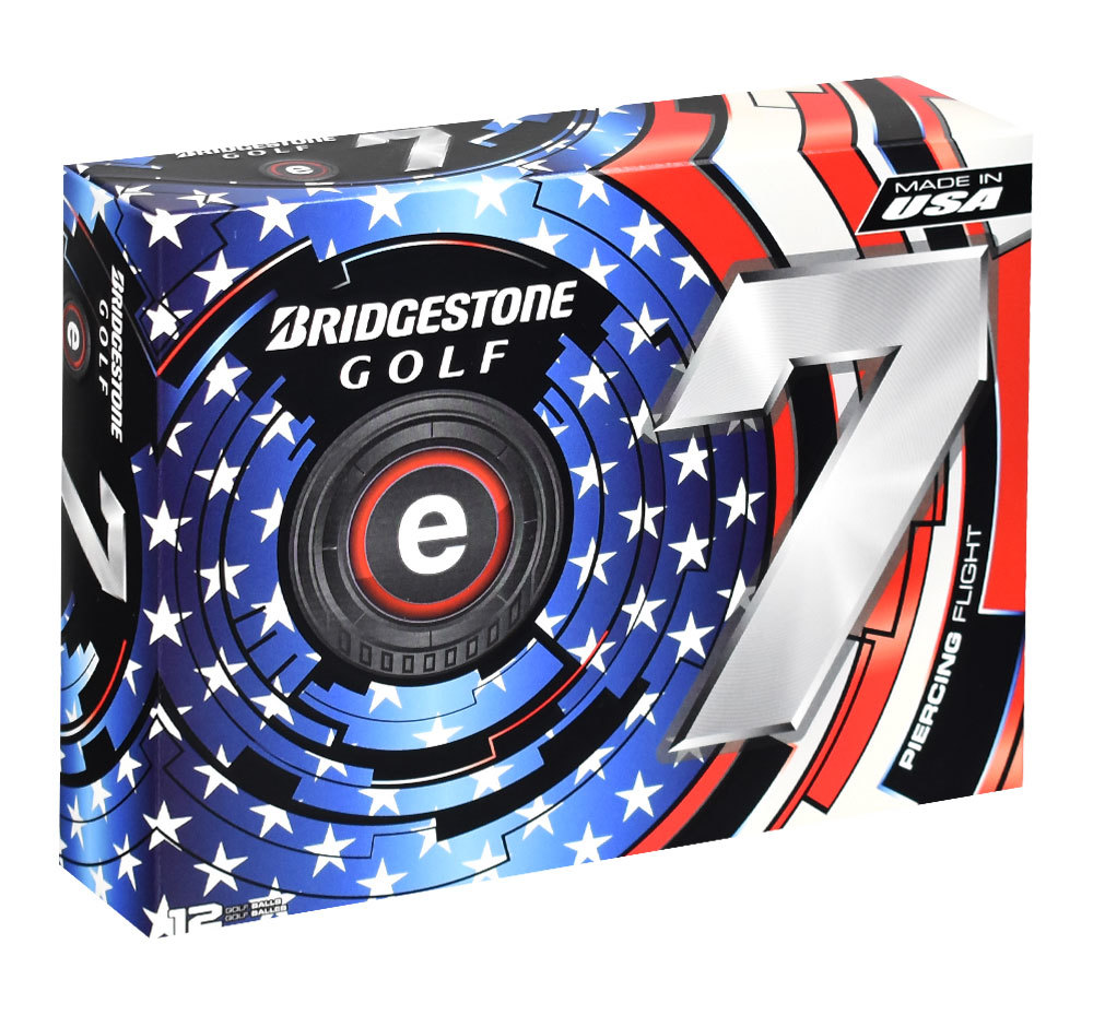 Bridgestone- e7 USA Special Edition Golf Balls
