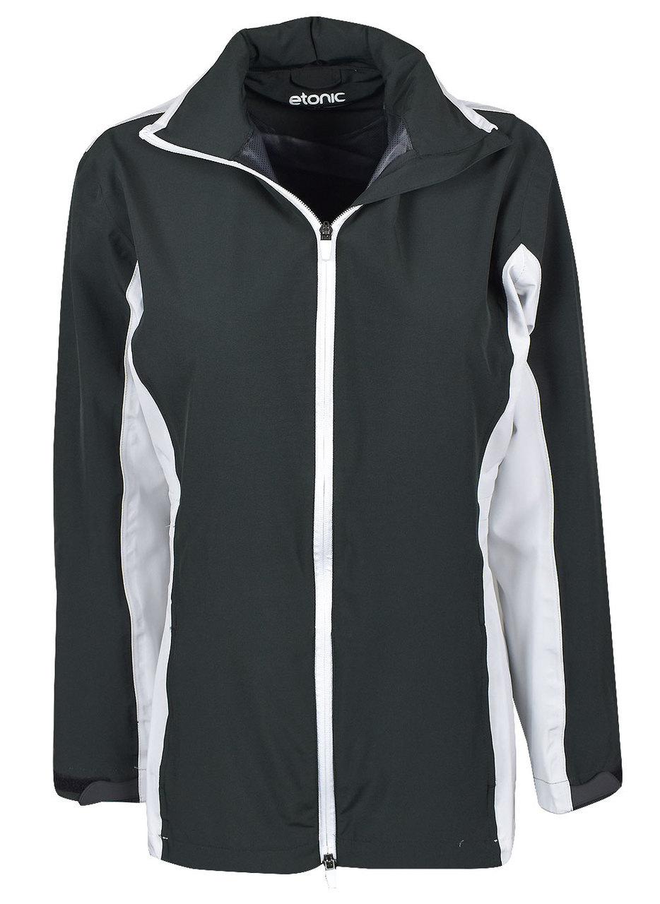 Etonic Golf- Ladies Solid Waterproof Rain Jacket