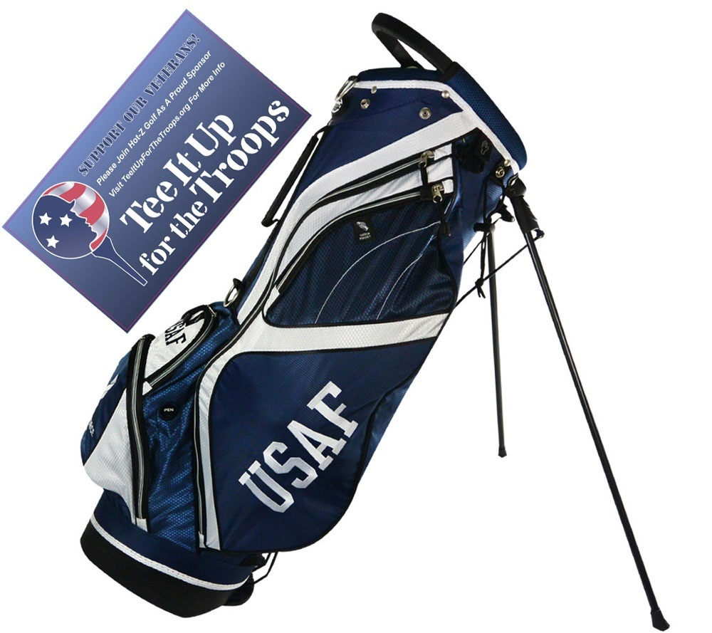 Air Force Stand Bag - Hot-Z Golf