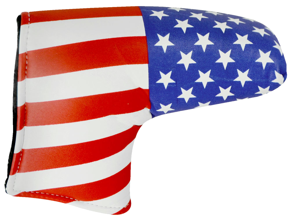 USA Putter Head Cover - Hot-Z Golf