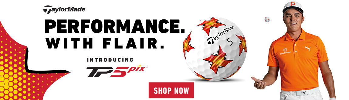 TaylorMade TP5 Pix golf ball product image sales banner