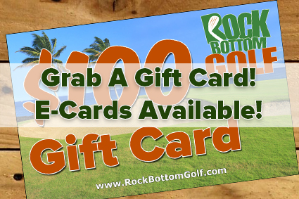 Rock Bottom Golf gift-card image