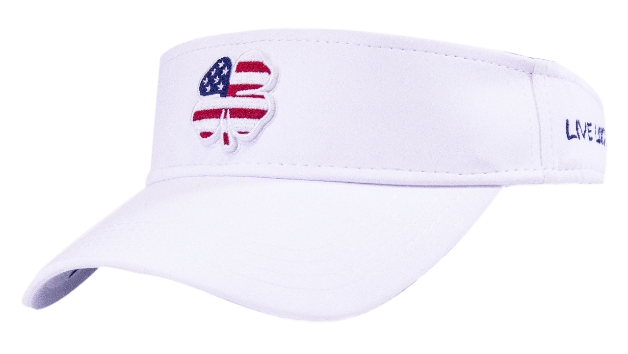 Black Clover Golf- USA Luck Visor