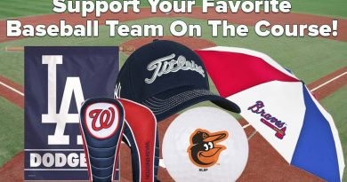 MLB Major League Baseball golf gear and equipment feature image for blog post