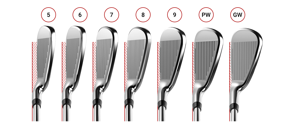 Progressive Offset Design - Cobra F-MAX Superlite Irons