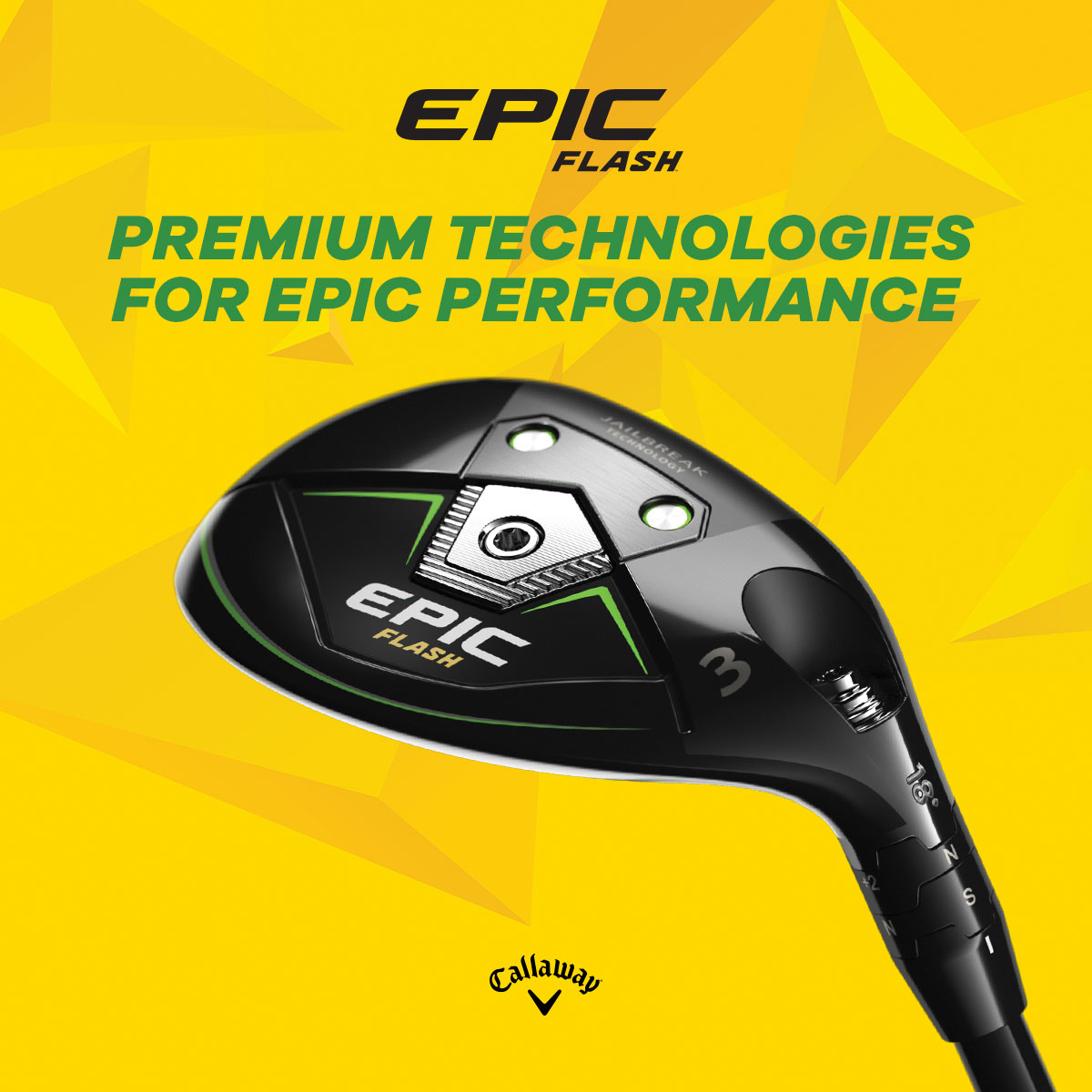 Callaway Epic Flash Hybrid banner image for link to RBG