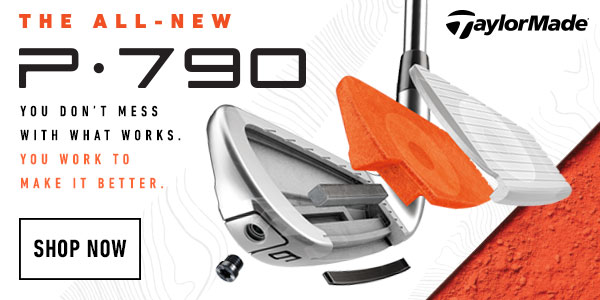 TaylorMade 2019 P790 sales banner image