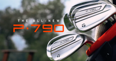 TaylorMade 2019 P790 irons feature hero image for top page
