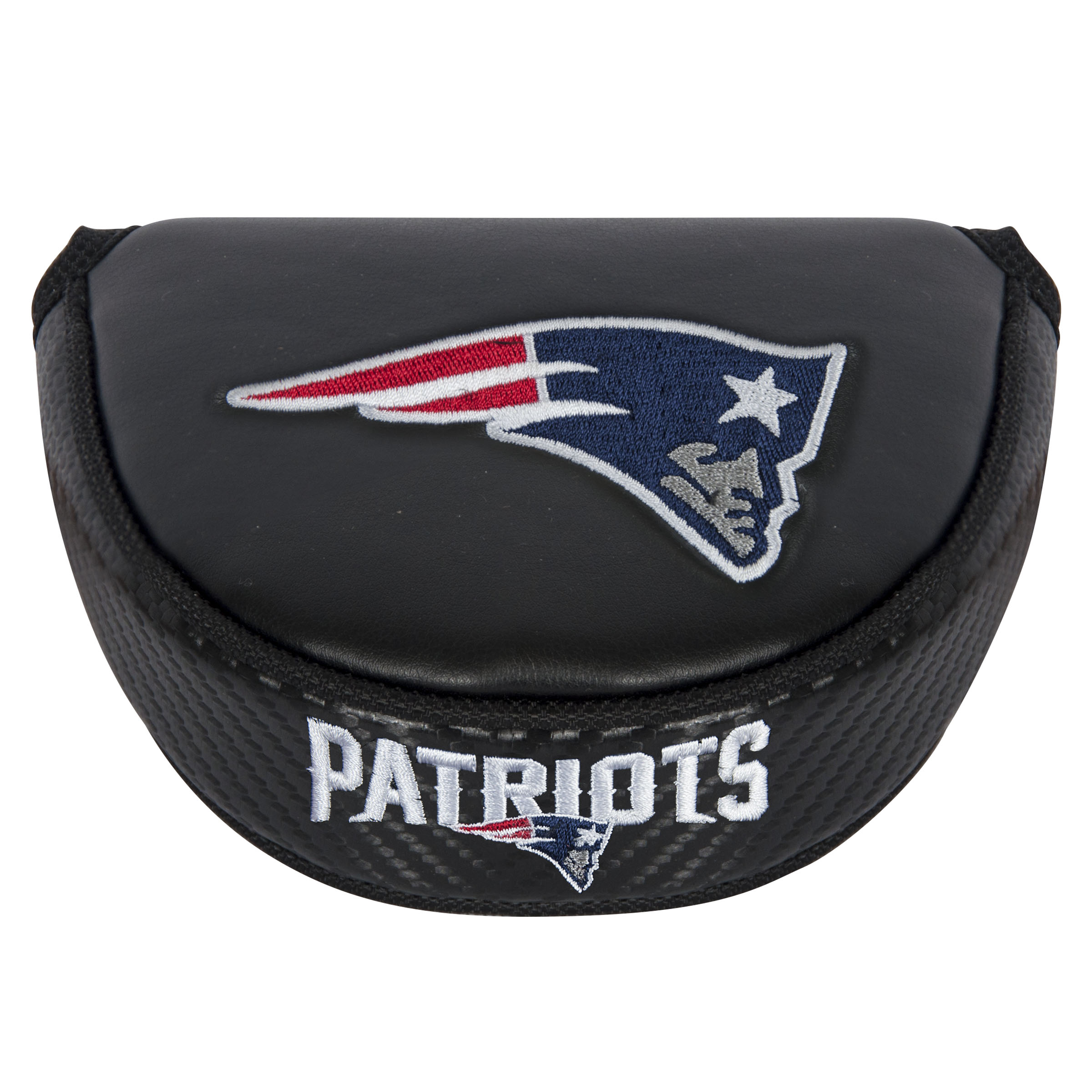 New England Patriots NFL Golf Equipment - golf mallet putter cover