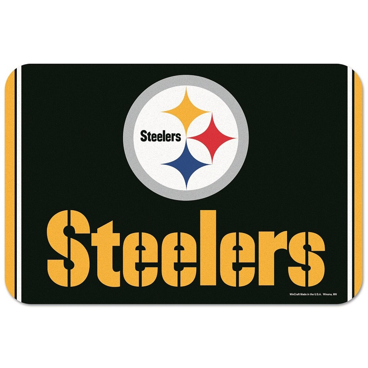 Pittsburgh Steelers NFL Golf Equipment - welcome mat