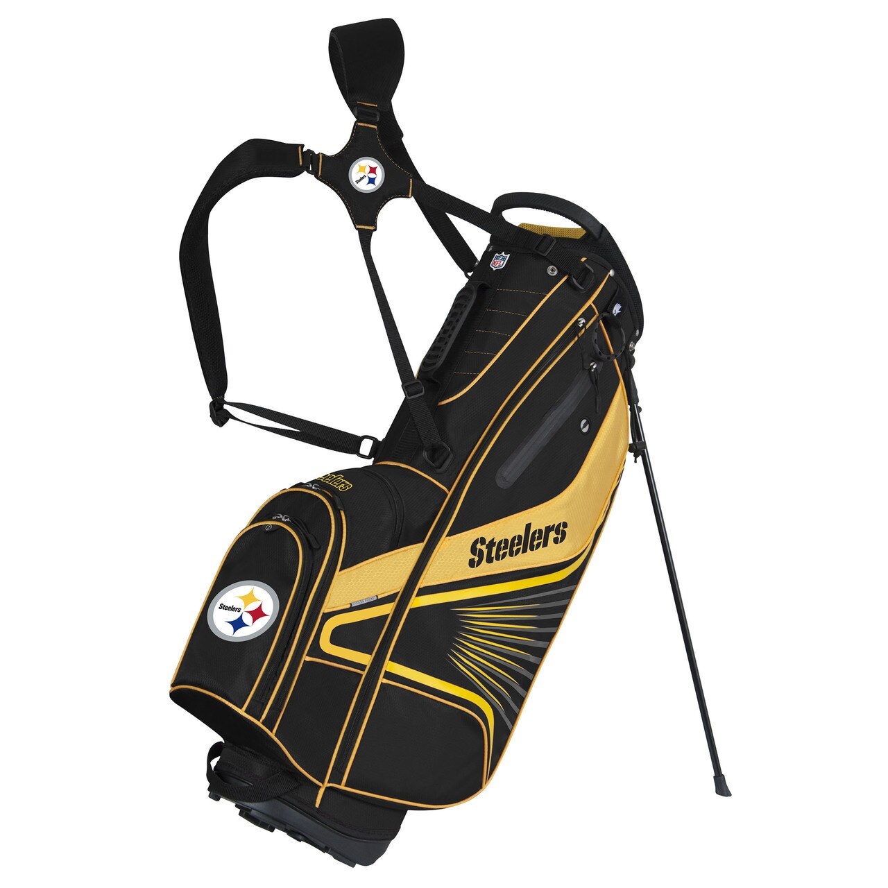 Pittsburgh Steelers NFL Golf Equipment - golf stand bag