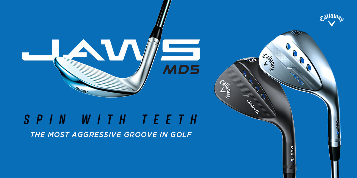 Callaway JAWS MD5 Wedge graphic for banner link