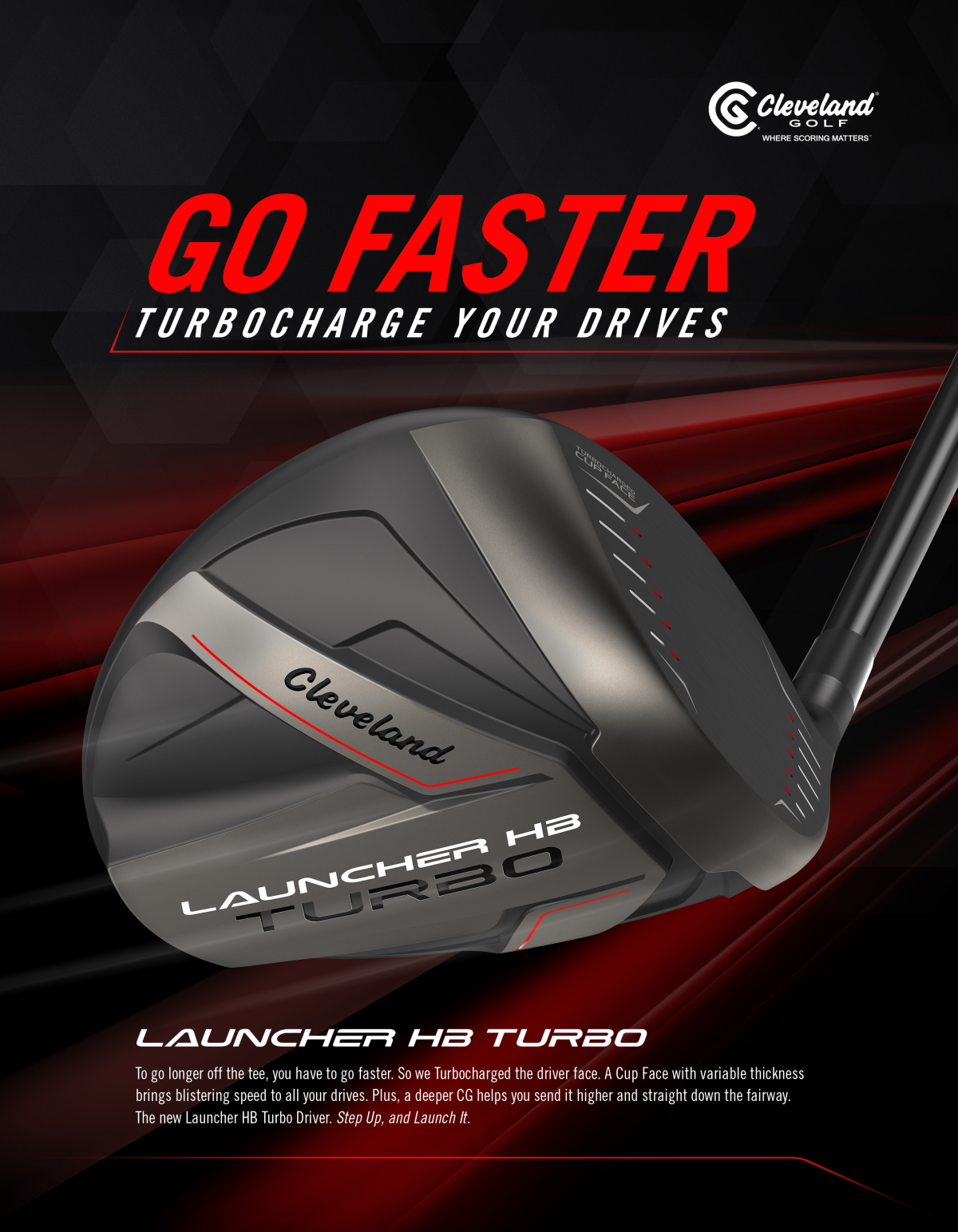 Cleveland Launcher HB Turbo woods sales banner image