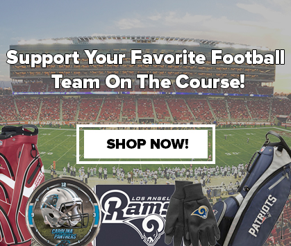 Support your NFL team on the course NFL football Golf Gear and Equipment