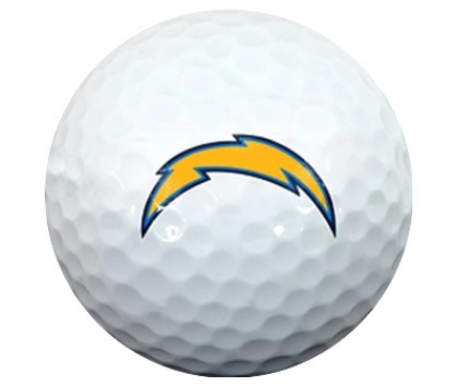 Los Angeles Chargers - NFL Football logoed golfing gear