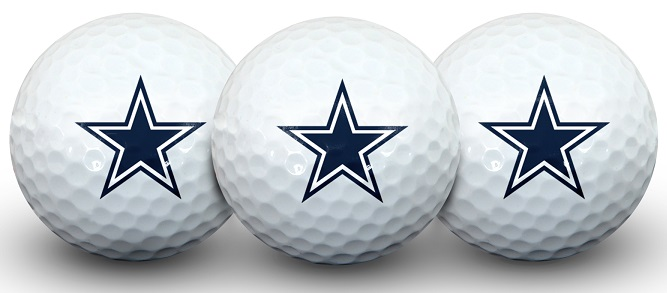 Dallas Cowboys NFL Golf Equipment - golf balls
