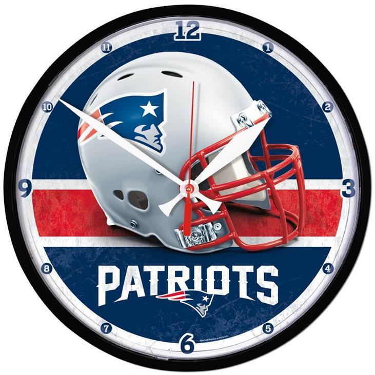 New England Patriots NFL Golf Equipment - NFL team clock