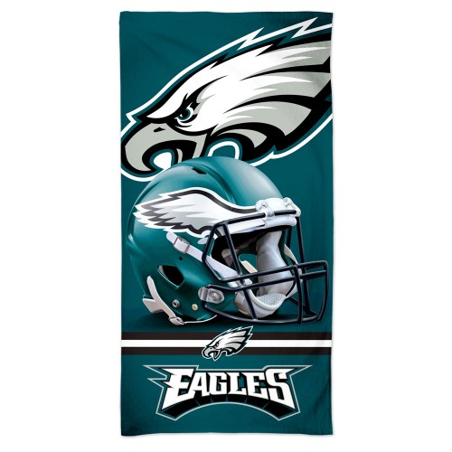 Philadelphia Eagles NFL Golf Gear - NFL team beach towel
