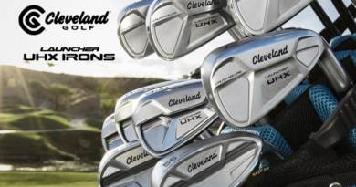 Cleveland Launcher UHX Irons hero image for header section clean