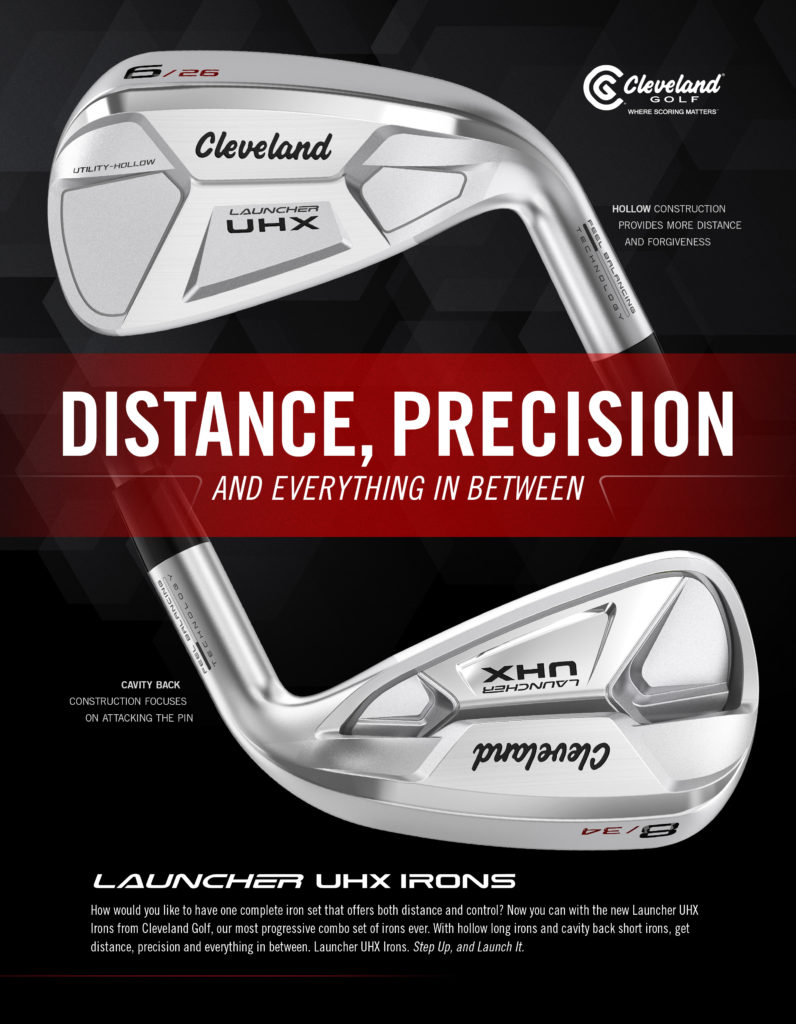 Cleveland UHX Launcher Irons product sales banner