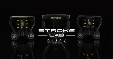 black stroke lab putter image for hero feature crop with logo