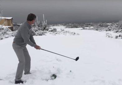 On The Range-Winter Golf