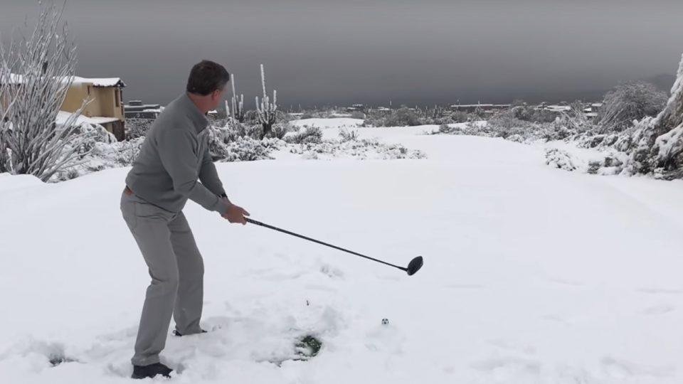 Winter Golf