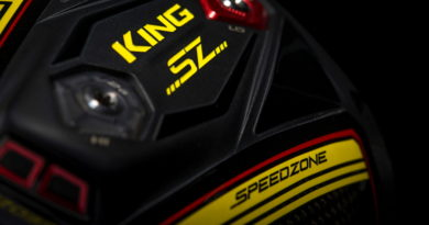 Cobra Speedzone driver head image for feature hero section
