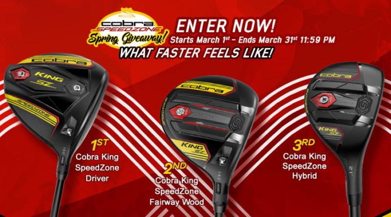 Enter to win cobra speedzone clubs