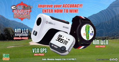 RBG's Golf Buddy Giveaway