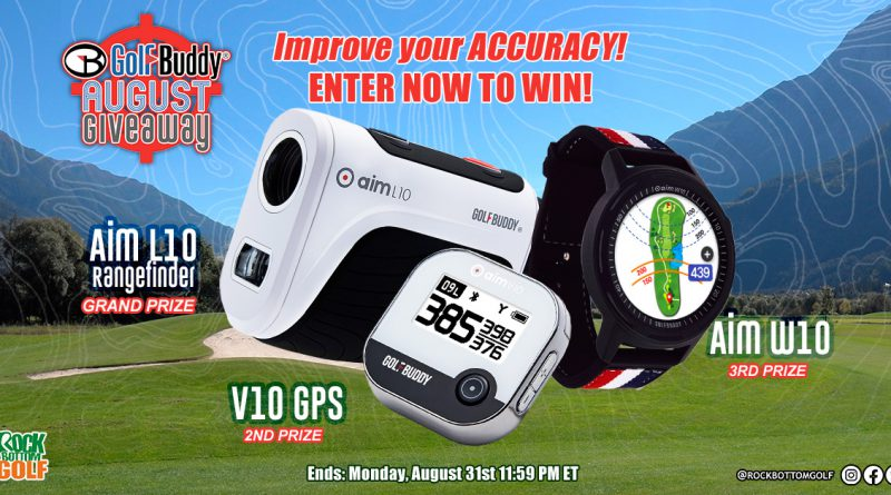 RBG's Golf Buddy Giveaway