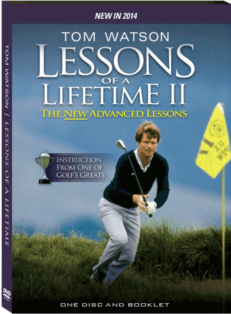 Tom Watson Lessons of a Lifetime II Golf Training DVD