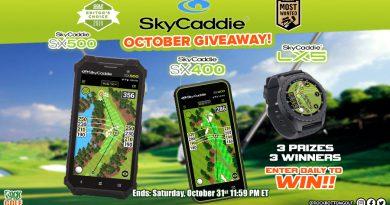 Win FREE SkyCaddie Tech