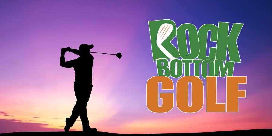 Golf drivers at Rock Bottom Golf