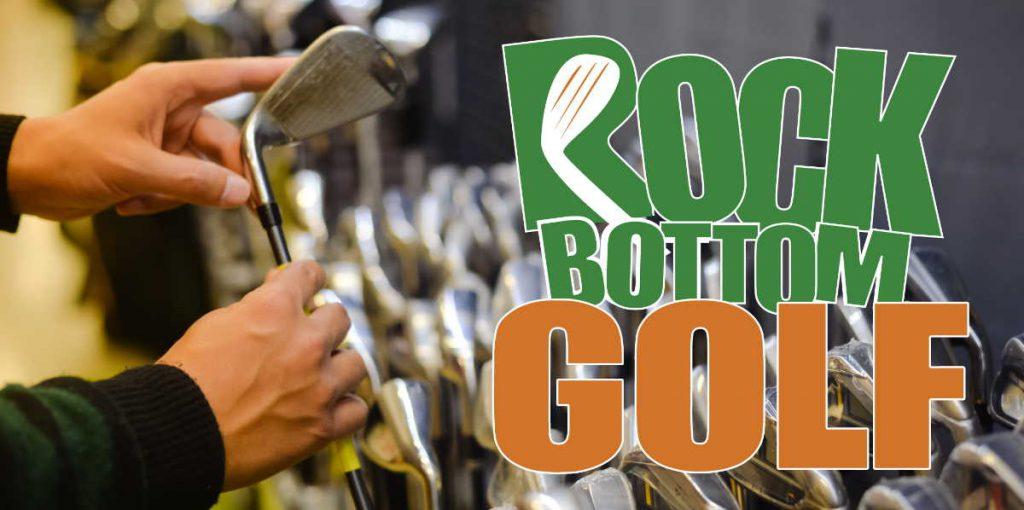 golf clubs at Rock Bottom Golf