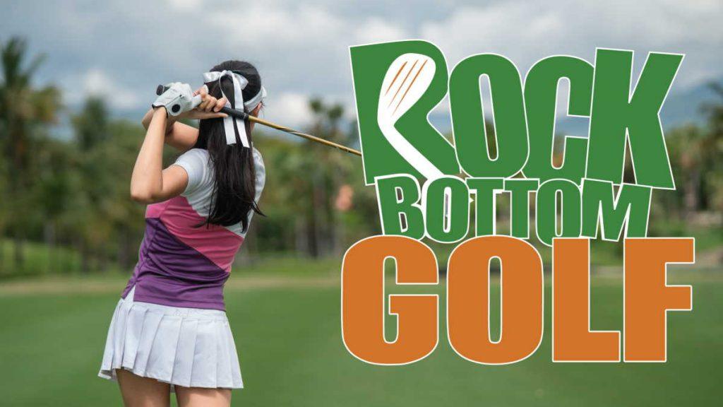 ladies clubs at Rock Bottom Golf