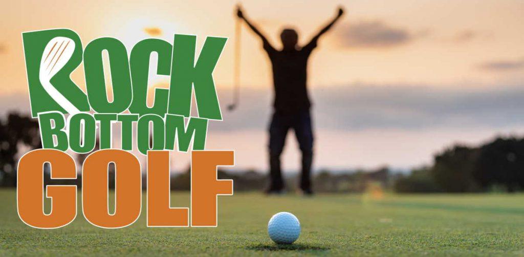 golf balls at Rock Bottom Golf