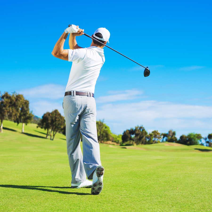 golf driver swing image