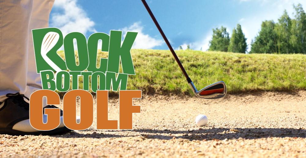 Wedges at Rock Bottom Golf